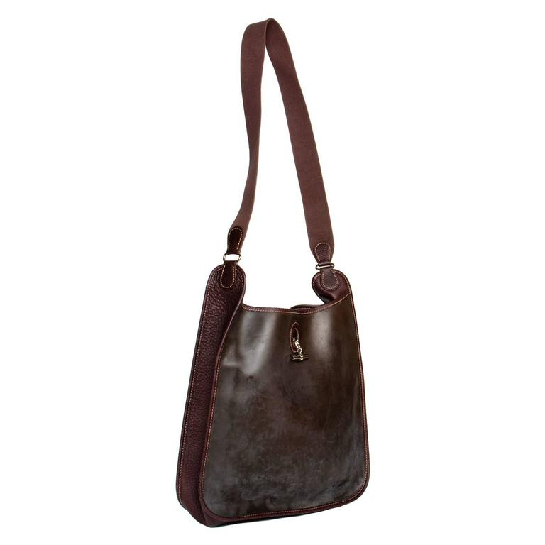 Hermès Brown Eco Leather Bag In New Condition For Sale In Brooklyn, NY