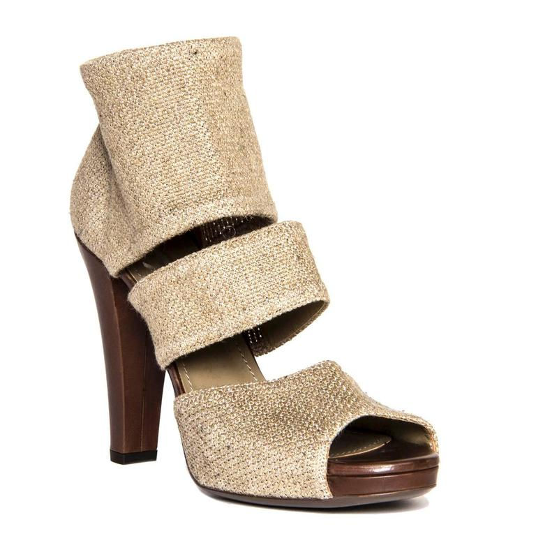 Yves Saint Laurent Beige Heeled Sandals 2