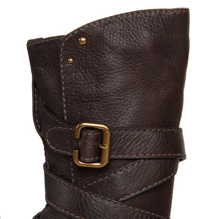 Women's Chloe' Chocolate Brown Boots For Sale