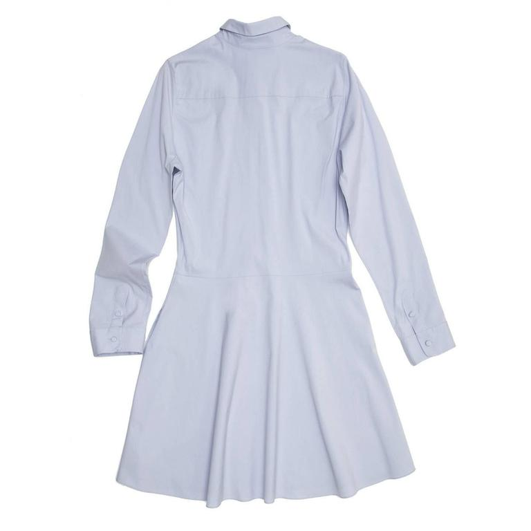 The Row Light Blue Shirt Dress 3