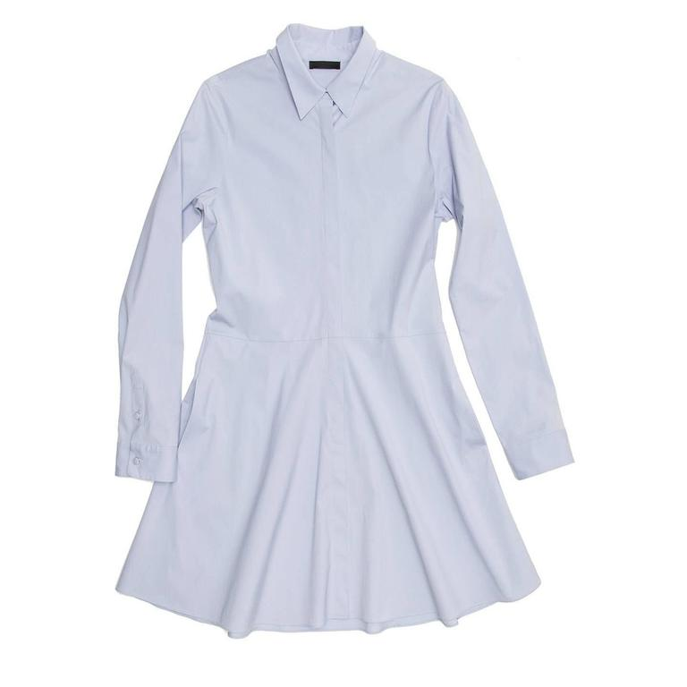 The Row Light Blue Shirt Dress 2