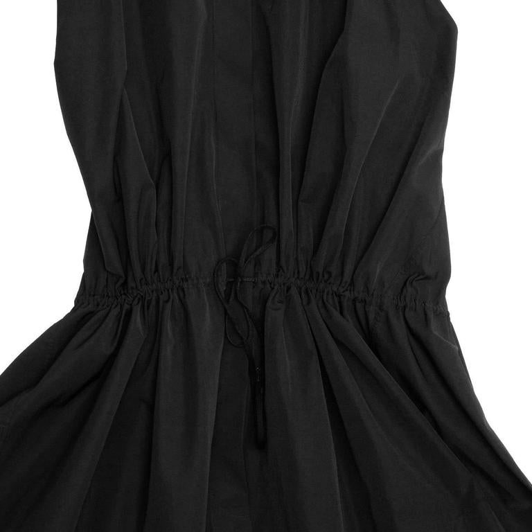 Alaïa Black Cotton Shirt Dress 5