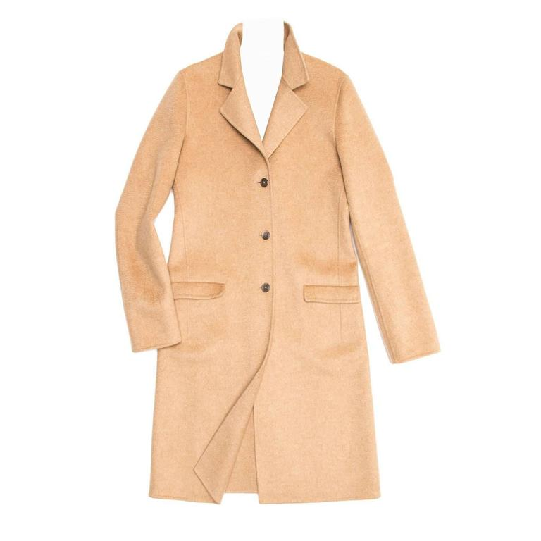 Cashmere 1stdibs Camel For Jil Coat Sale Sander At zqpSUMVG
