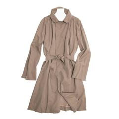 Lanvin Taupe Classic Trench Coat