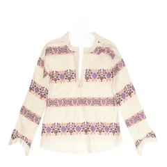 Marni Multicolor Floral Embroideries Tunic