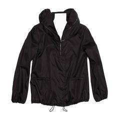 Prada Black Insulated Hooded Windbreaker