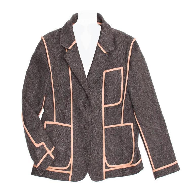 Marni Grey School Boy Jacket