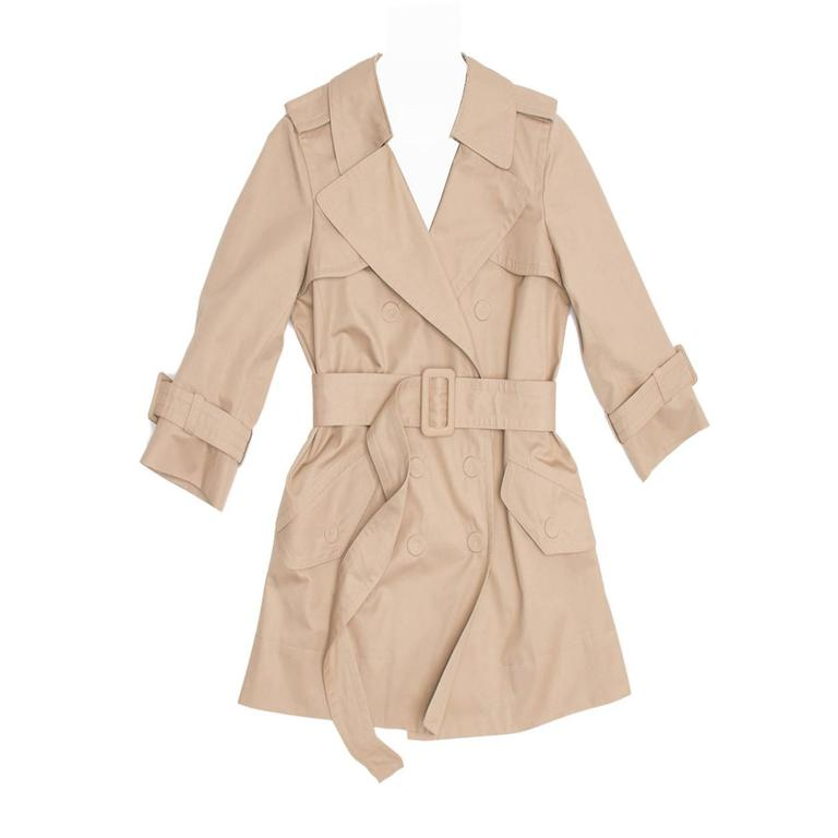Marc Jacobs Khaki Trench Coat