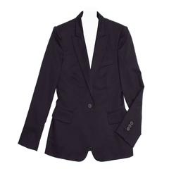 Stella McCartney Navy Wool Blazer Navy Buttons