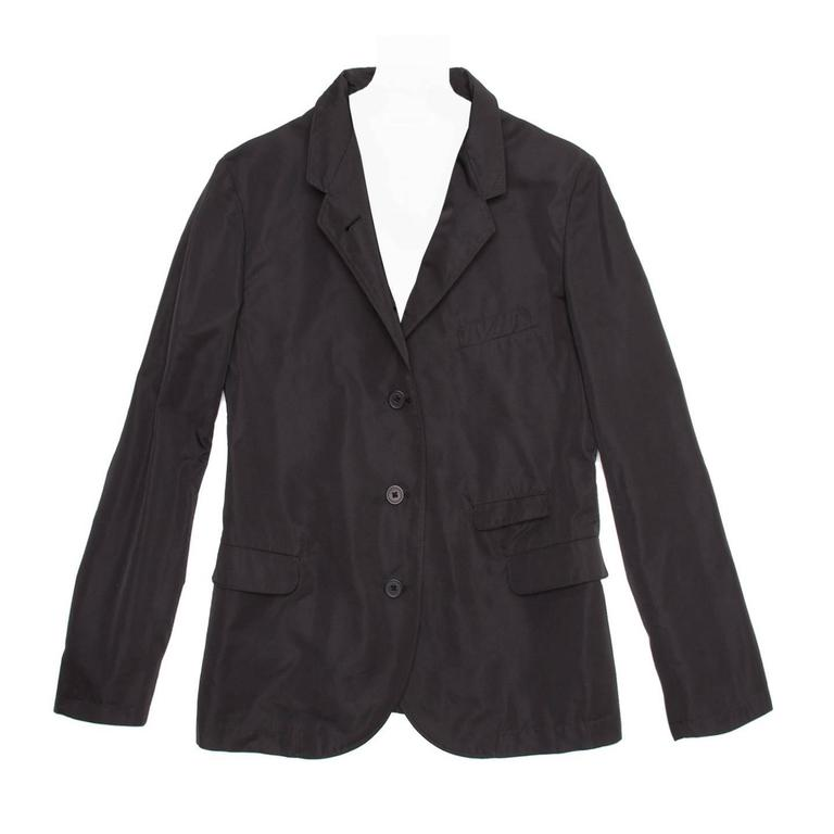 Jil Sander Black Single Breasted Blazer