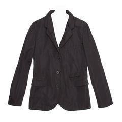 Jil Sander Black Single Breasted Blazer