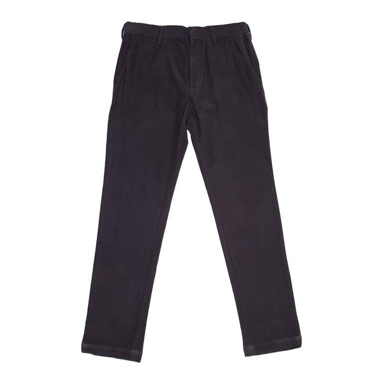 45rpm Blue Grey Chino Pants For Man