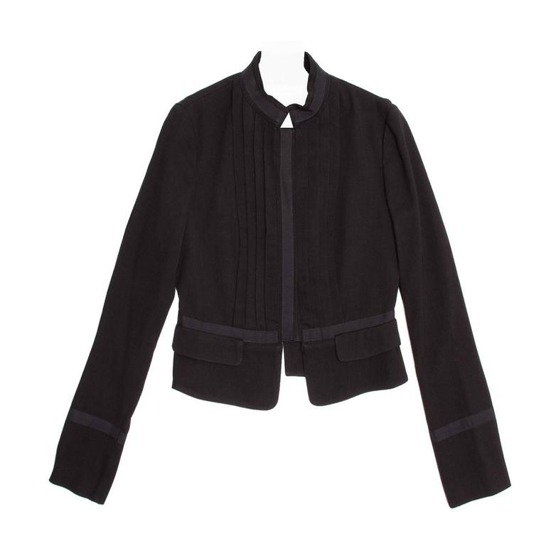 See by Chloe' Black Bellboy Cut Jacket