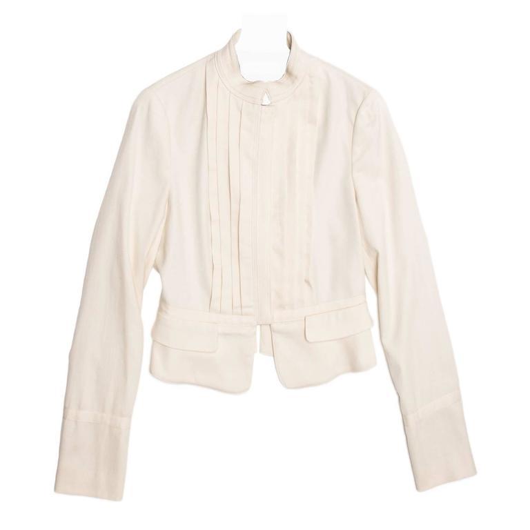 See by Chloe' Cream Bellboy Cut Jacket