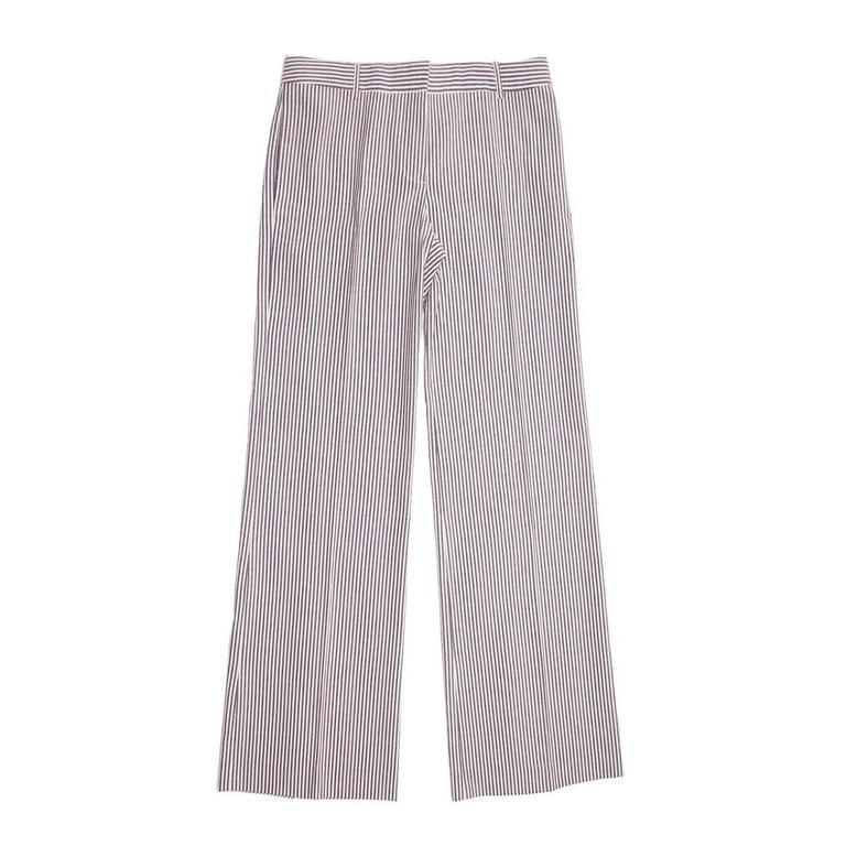 Chloe' Blue & White Seersucker Pants