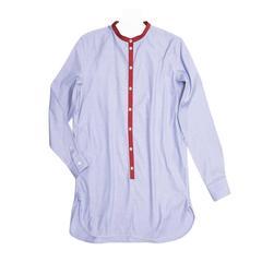 Celine Blue & Red Cotton Shirt