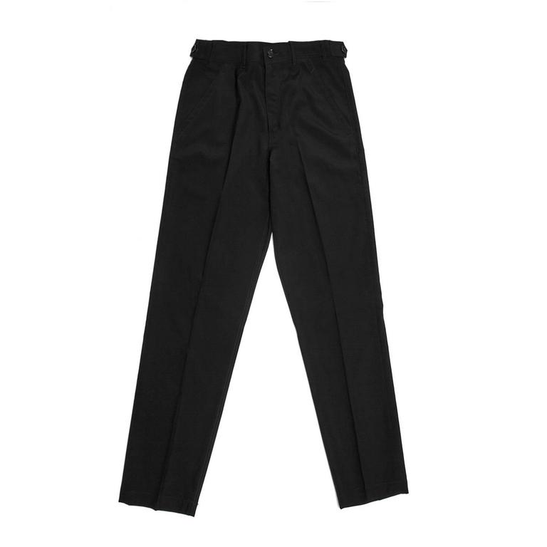 Comme Des Garcons Wool Navy Pants For Man