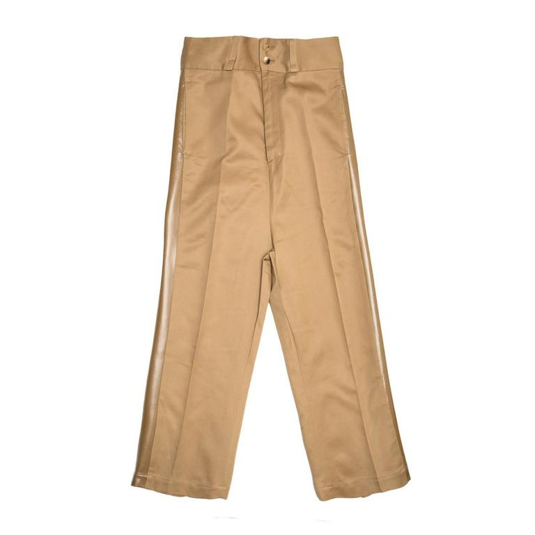 Junya Watanabe Caramel Cotton Baggy Pants For Sale