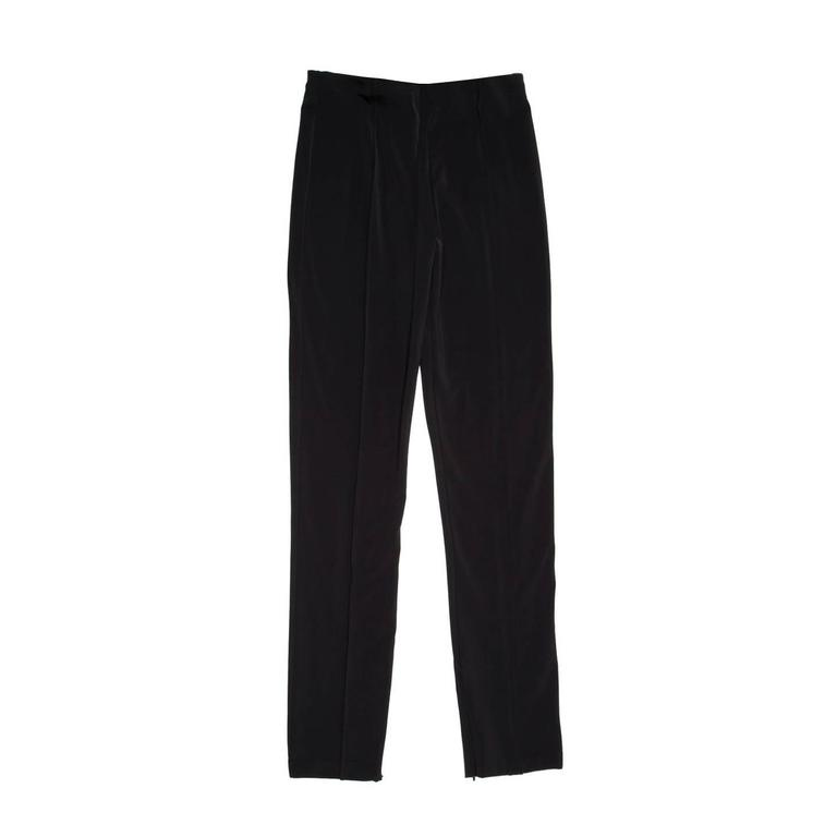 Jil Sander Black Stretch Trousers