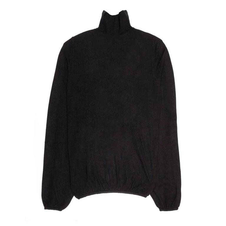 Louis Vuitton Black Cashmere Sweater