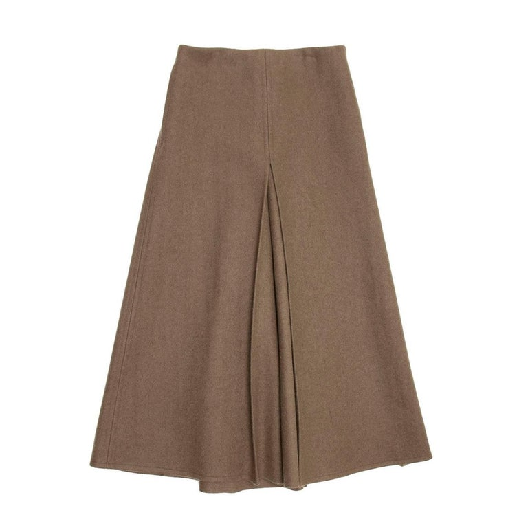 Marc Jacobs Green Brown Wool Skirt