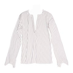 Marni Brown & Blue Striped Tunic