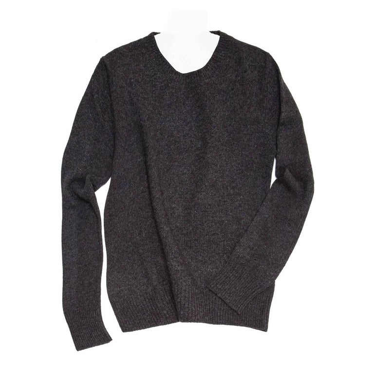 Prada Charcoal Grey Cashmere Sweater