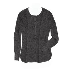 Proenza Schouler Grey Melange Cashmere Sweater