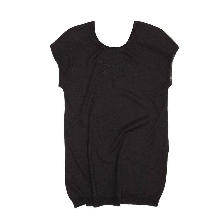 Rochas Black Knit Vest