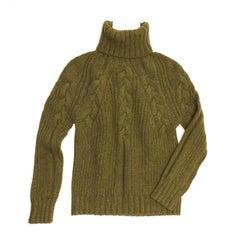 Proenza Schouler Musk Green Cashmere Sweater