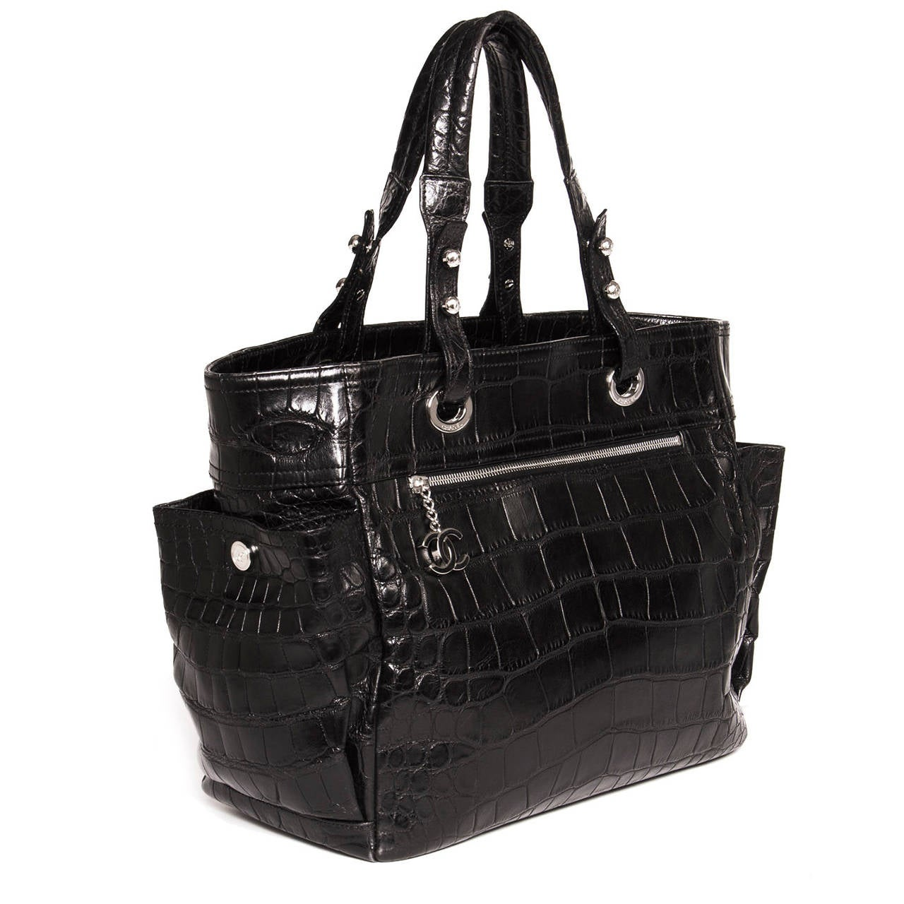 Alligator and Crocodile Bags. Related Categories. Auction Alerts. Crocodilian leather is perhaps the most popular natural material for vintage purses and handbags. The earliest Crocodilian fossils can be traced back to 80 million years ago, when dinosaurs still roamed the earth. Today the order encompasses 23 species, including crocodiles.