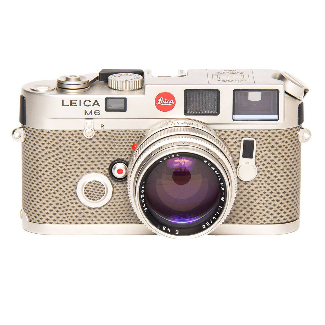 Leica Camera Platinum and Karung Skin - Special Edition M6 T For ...