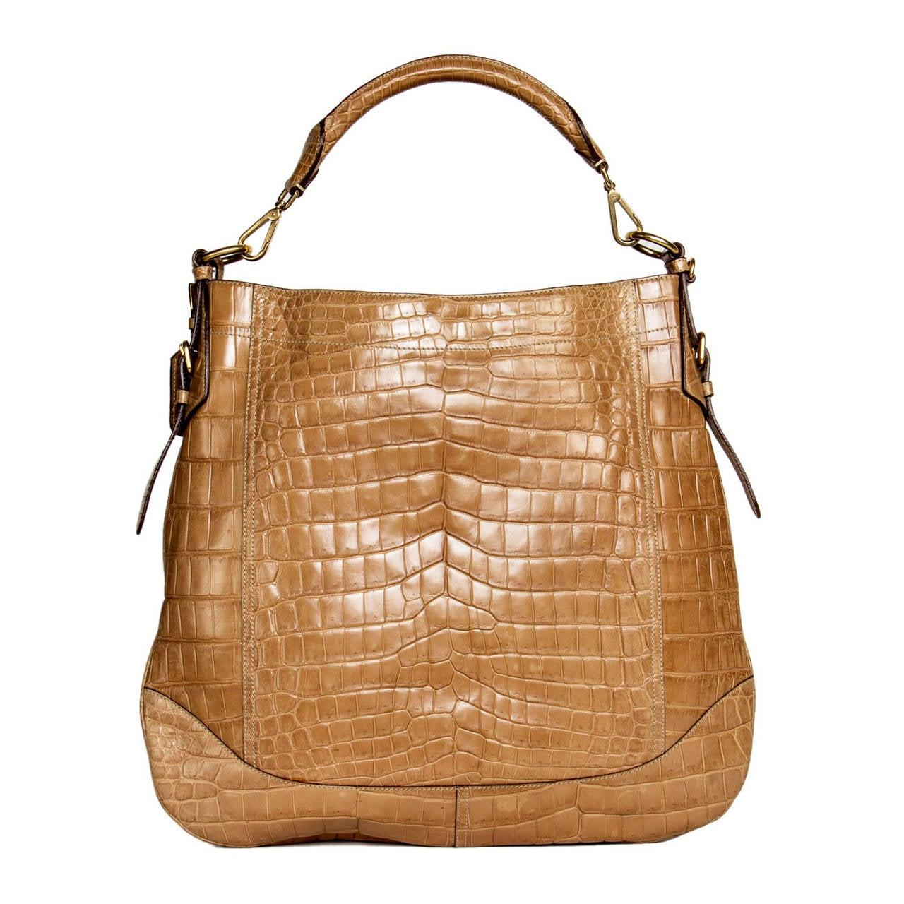 bag prada red - prada crocodile handbag