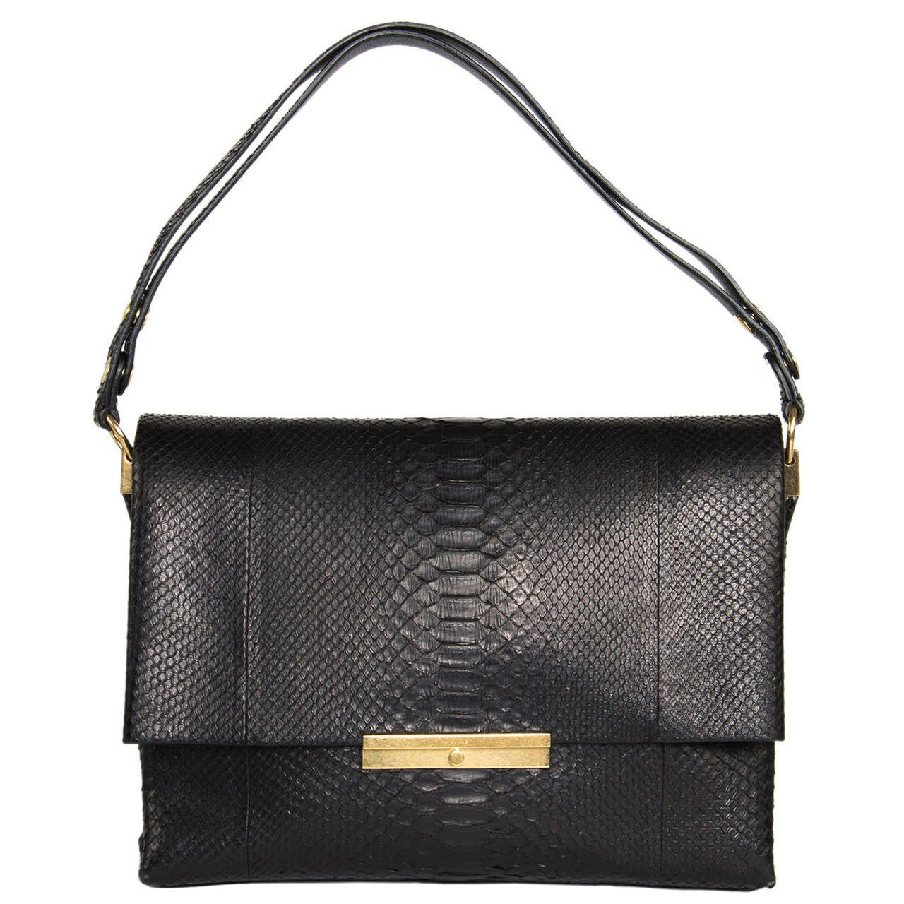 Celine Black Snake Skin Bag For Sale at 1stdibs 371abf1e00ac4