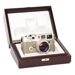 Leica Camera Platinum & Karung Skin - Special Edition M6 T