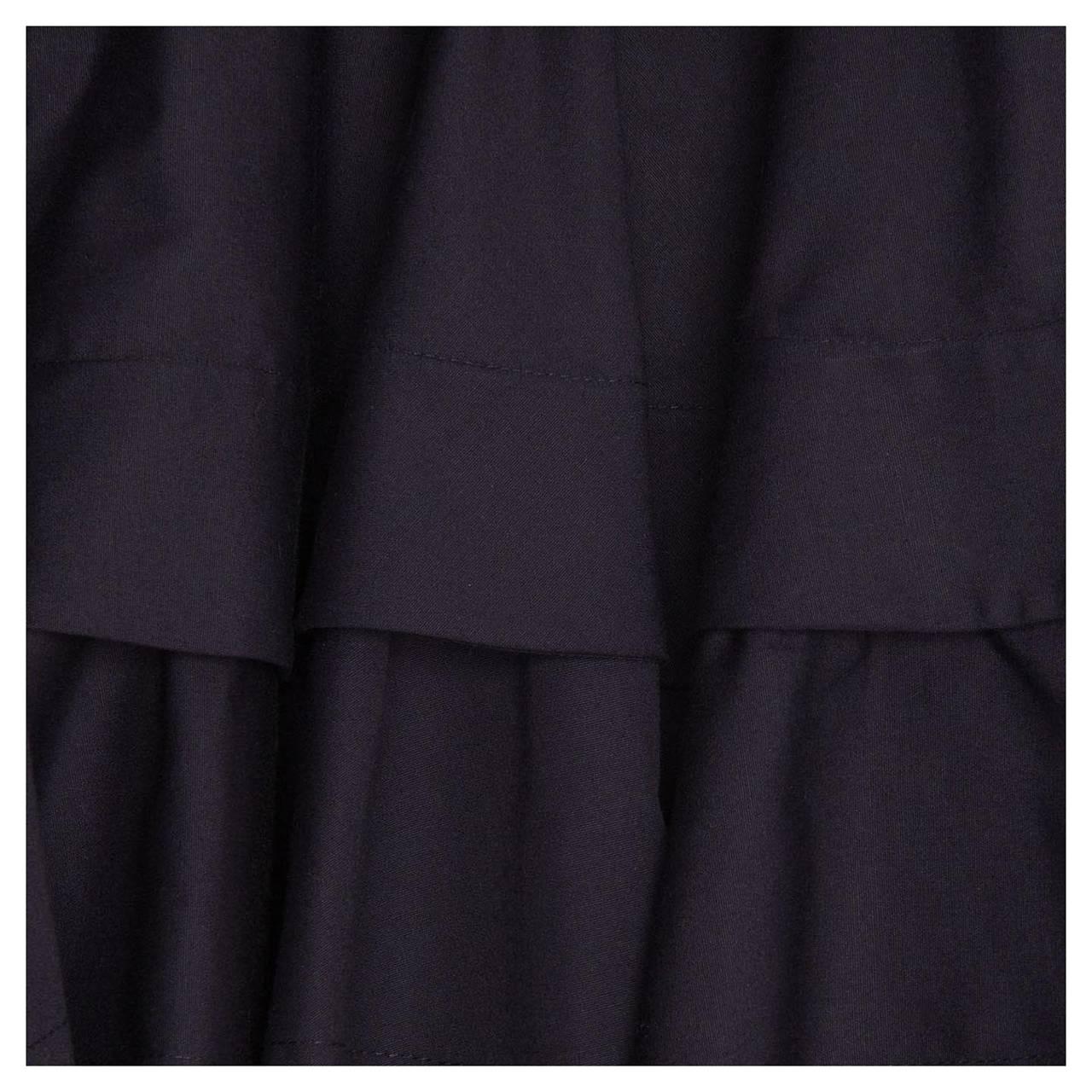 Alaïa Dress Navy Halter Style 4