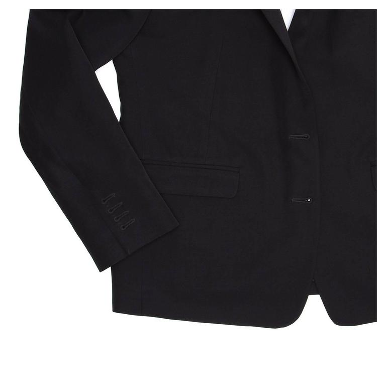 Dries Van Noten Dark Navy Snap Front Blazer 6