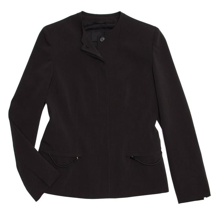 Prada Black Skirted Suit 3
