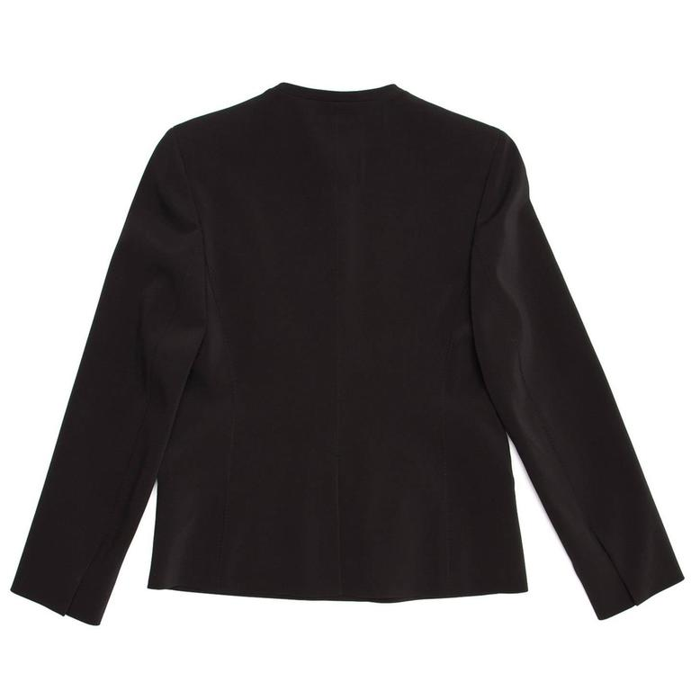 Prada Black Skirted Suit 4