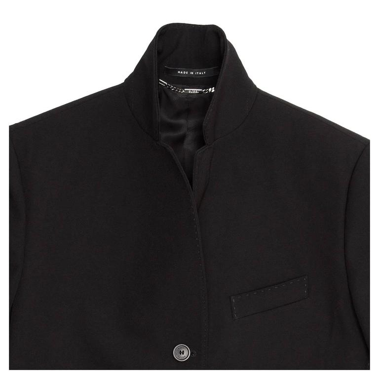 Gucci Black Wool Cropped Blazer 5