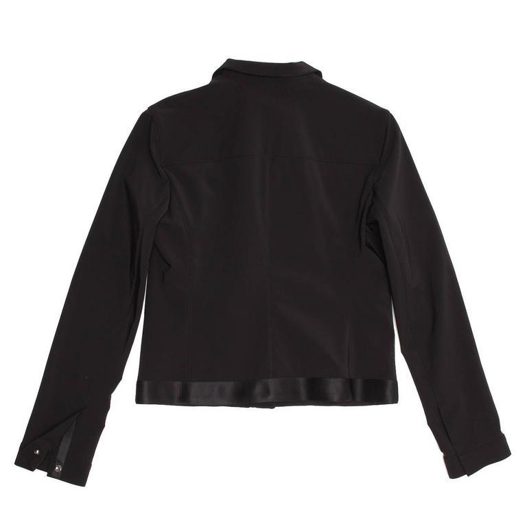 Prada Black Poly Nylon Jacket For Sale 1