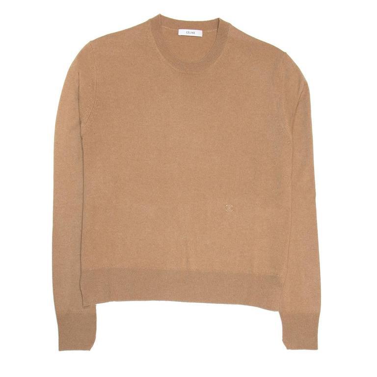 Celine Camel Cashmere Sweater 2