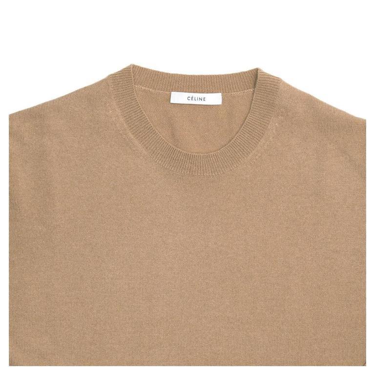 Celine Camel Cashmere Sweater 5