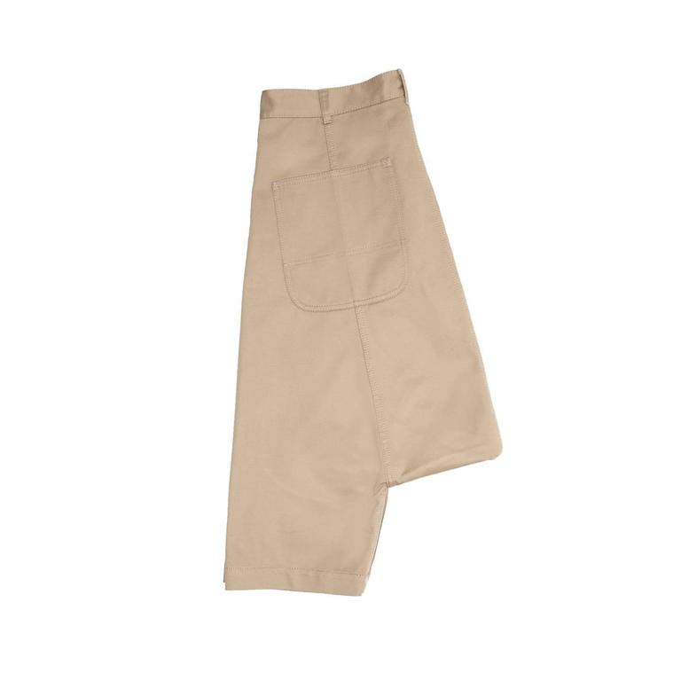 Comme des Garçons Khaki Cotton Dropped Crotch Pants In Excellent Condition For Sale In Brooklyn, NY