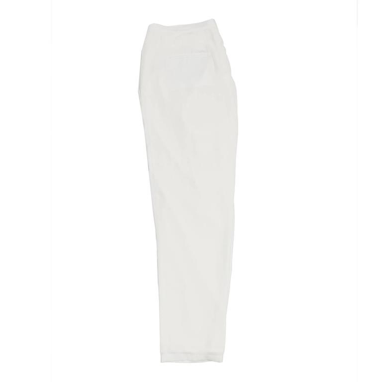 Gray Band of Outsiders White Light Loose Pants For Sale