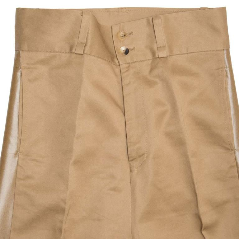Women's Junya Watanabe Caramel Cotton Baggy Pants For Sale