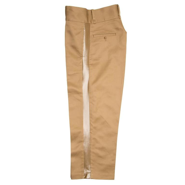 Junya Watanabe Caramel Cotton Baggy Pants In New Condition For Sale In Brooklyn, NY