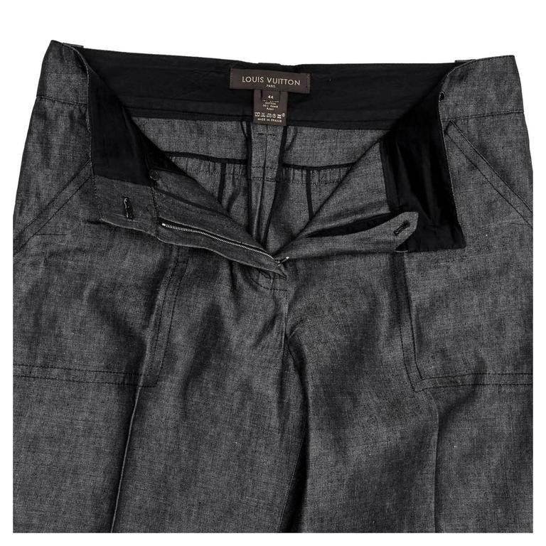 d62533c9ea0 Louis Vuitton Dark Denim Palazzo Pants For Sale at 1stdibs