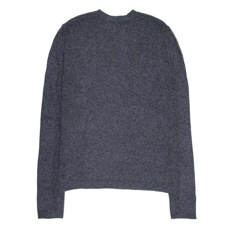 Marni Charcoal Grey Cashmere Sweater For Sale at 1stdibs