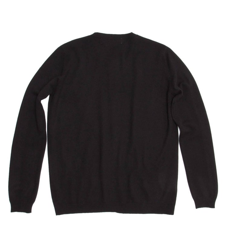 Marni Navy Blue Crew Neck Cardigan For Sale at 1stdibs